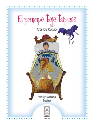 cover image of El príncipe teje tapices